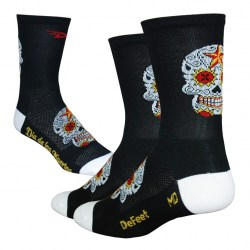 Aireator 5 Hi Top Sugar Skull Black/White
