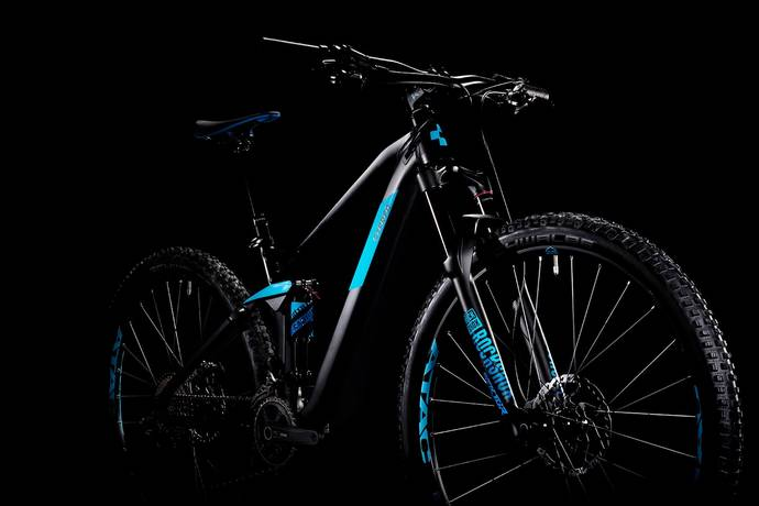 Cube Stereo 120 Race 29 Black 'n' Blue - 2019